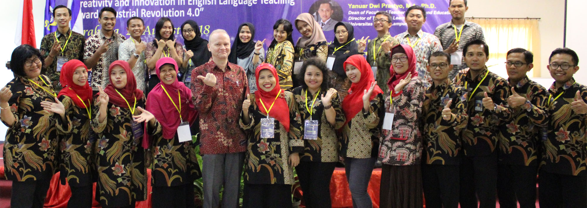 The 4th National Conference on Language and Language Teaching (NCOLLT-4) 2018